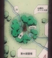 Plan de la Forêt de la Mort