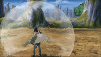 Shinra Tensei Sasuke (Game)