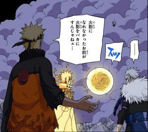 Arte Sabio Rasengan Manga