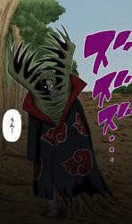 El misterioso miembro de Akatsuki aparece después de la batalla