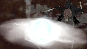 Elemento Viento Super Gran Bola Rasen Shuriken Anime