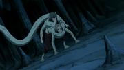 Kabuto utilisant les pouvoirs de Kimimaro
