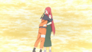 Naruto and Kushina meet