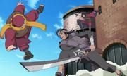 Ganryu attacks