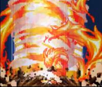 Grande Esfera de Fogo Espiral