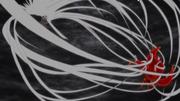 Jiraiya trata de atrapar a Naruto