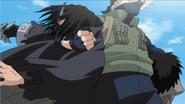 Kakashi derrota os Irmãos Demônios