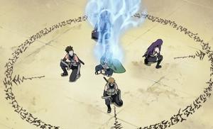 Katsuyu Inmensa Red de Sanación Anime