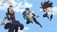 Konohamaru vs Shinobi