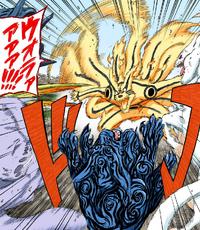 Kurama repele as outras Bestas