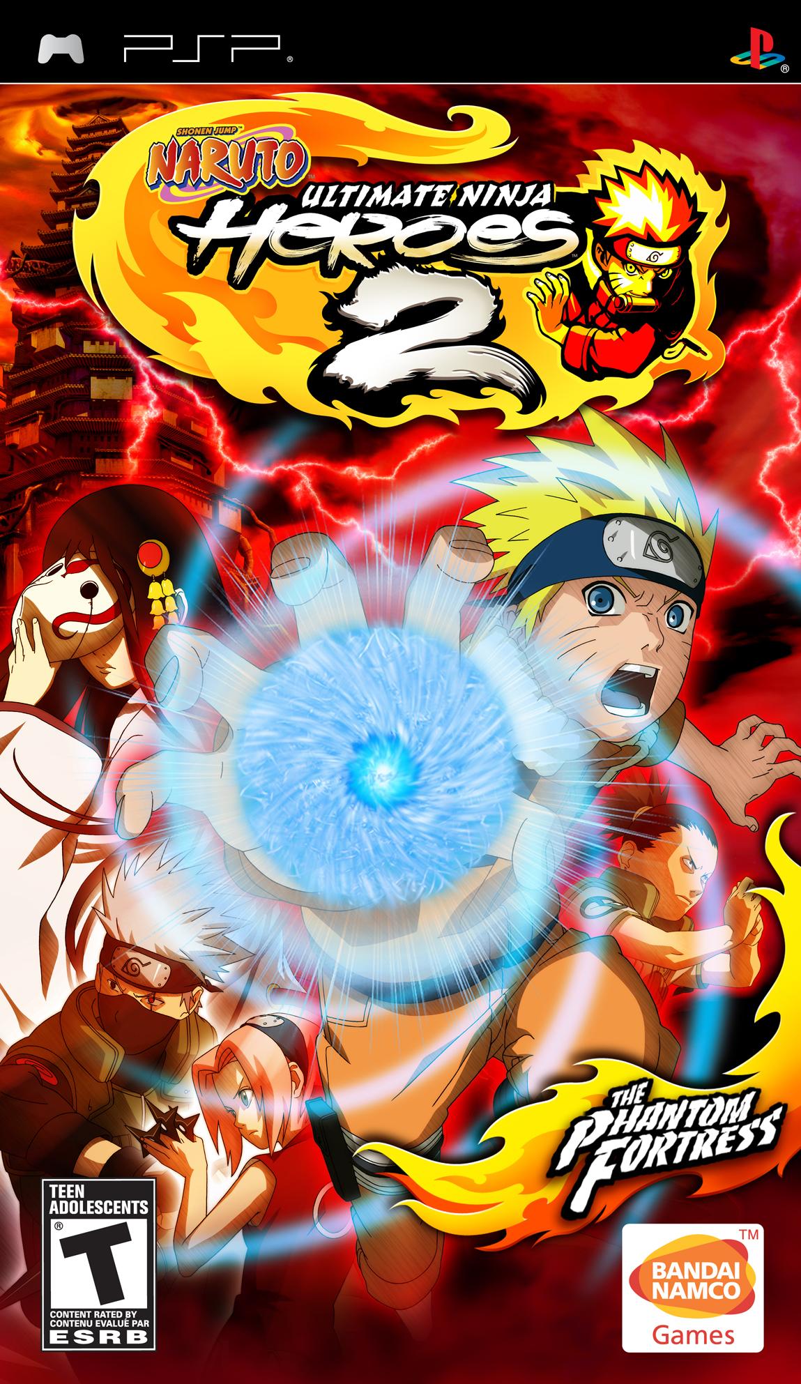 Naruto: Ultimate Ninja Heroes 2: The Phantom Fortress
