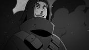 Rai mostrando su obsesión por el Izanagi