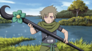 Yagura com sua arma