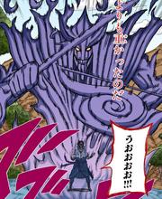 El Susanoo de Sasuke en su forma final