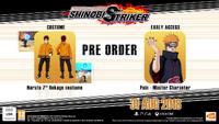 Naruto to boruto shonobi striker regalos de reserva