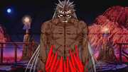 Shinga merged with Demon Shinki