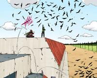 Técnica de Dispersão dos Mil Corvos (Mangá)