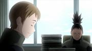 Yurito e Shikamaru nos documentos