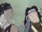 Zabuza em seus últimos momentos com Haku