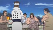 Asura ensinando Ninshū aos moradores