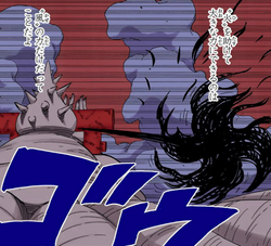 Auréola Furacão do Jato de Flecha Negra Estilo Zero (Colorido)