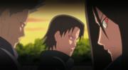 Inabi, Yashiro e Tekka ativam seus Sharingan