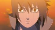 Mangekyô Sharingan éveillé de Sasuke