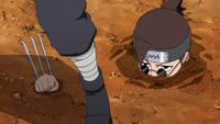 Muyami emerges from ground