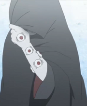 Shin's Left Arm of Sharingan