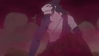 Shizuma fusionado con Samehada