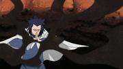 Terceiro Kazekage usando sua Areia de Ferro