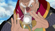 Elemento Polvo Jutsu del Desprendimiento del Mundo Primitivo Versión Cónica Anime