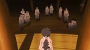 Indra derrota todos os seguidores do ninshu