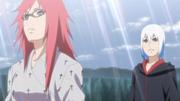 Karin e Suigetsu presos no Tsukuyomi Infinito