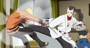 Jigen patea a Naruto