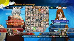 Personajes Naruto Ultimate Ninja Storm Generations PNG
