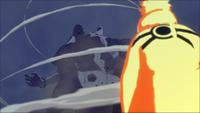 Estátua Demoníaca do Caminho Exterior invocadoa por Tobi (Game)