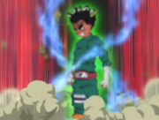 Liberación de las Ocho Puertas Anime