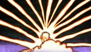 Minato creando múltiples brazos de Chakra
