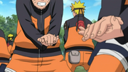 Naruto's struggling