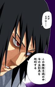 Sasuke declara que ejecutará a los Cinco Kages Manga