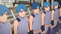 Técnica dos Clones das Sombras (Três Irmãos Senka)