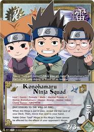 Escuadron Ninja Konohamaru TP2