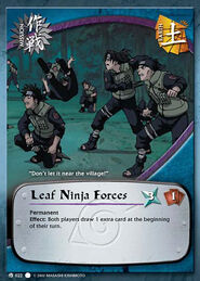 Leaf Ninja Forces