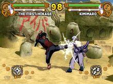 Naruto Ultimate Ninja Modo Combate Libre