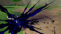 Liberação de Chama - Honoikazuchi (Sasuke)