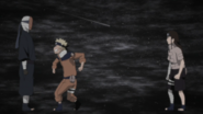 Naruto e Neji se reúnem com o Homem Mascarado