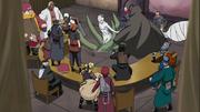 Zetsu Blanco interrumpe la Reunión de los Kage