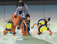 Combo de Naruto Uzumaki Anime 3