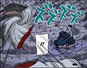 Madara se teletransporta a la Dimensión del Kamui